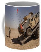A M1114 Armored Vehicle Is Unloaded Coffee Mug