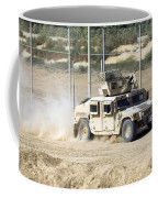 A M1114 Humvee Patrols The Perimeter Coffee Mug