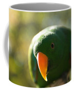 A Male Solomon Island Eclectus Parrot Coffee Mug by Joel Sartore