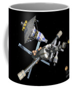 A Manned Mars Landerreturn Vehicle Coffee Mug