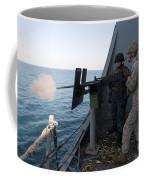 A Marine Fires A .50-caliber Machine Coffee Mug