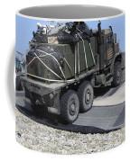 A Medium Tactical Vehicle Replenishment Coffee Mug