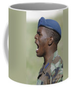 A Member Of The U.s. Air Force Academy Coffee Mug by Stocktrek Images