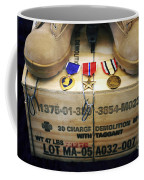 A Memorial Dedicated To An Airman Who Coffee Mug by Stocktrek Images