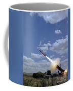 A Mim-104 Patriot Anti-aircraft Missile Coffee Mug