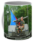 A Mistral Surface To Air Missile Sam Coffee Mug by Luc De Jaeger