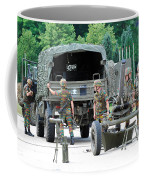 A Mortar Section Of The Belgian Army Coffee Mug