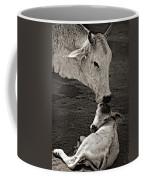 A Mother's Love Monochrome Coffee Mug