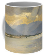 A Mountain Landscape Coffee Mug by Unknown
