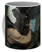A Naval Flight Officer Tracks Aircraft Coffee Mug