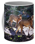 A Pair Of Cheetah's Coffee Mug