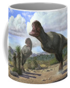 A Pair Of Pycnonemosaurus Nevesi Coffee Mug