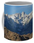 A Panoramic View Of Mount Whitney Coffee Mug