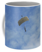 A Paratrooper Of The Belgian Army Coffee Mug by Luc De Jaeger