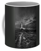 A Path To Enlightment Bw Coffee Mug