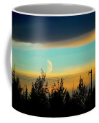 A Peek At The Moon Coffee Mug
