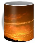 A Peeking Sunrise Coffee Mug