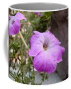 A Photo Of A Purple Trumpet Shaped Flower Coffee Mug