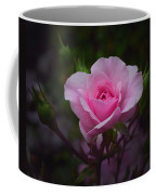 A Pink Rose Coffee Mug by Xueling Zou