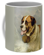 A Portrait Of A St. Bernard Coffee Mug