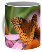 A Pretty Flying Flower Coffee Mug