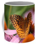 A Pretty Flying Flower Coffee Mug