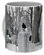 A Quiet Winter Day At The Graveyard Coffee Mug