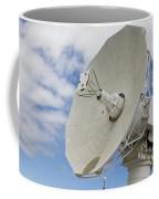 A Radar Dish Aboard Mobile At-sea Coffee Mug
