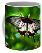 A Real Beauty Butterfly Coffee Mug
