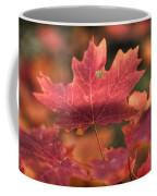 A Red Fall  Coffee Mug