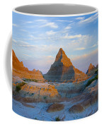 A Red Sunrise Illuminates The Hills In Coffee Mug