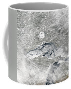A Relatively Rare Blanket Of Ice Rests Coffee Mug by Stocktrek Images
