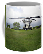 A Rh-53d Sea Stallion Helicopter Coffee Mug by Michael Wood