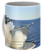A Rim-7 Sea Sparrow Is Launched Coffee Mug by Stocktrek Images