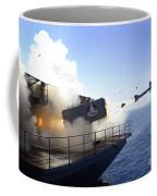 A Rim-7 Sea Sparrow Missile Launches Coffee Mug