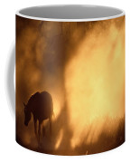 A Roaming Horse In Montana Coffee Mug