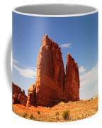 A Rock At Arches Coffee Mug