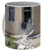 A Rocket Propelled Grenade Damaged This Coffee Mug
