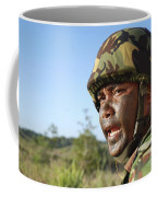 A Royal Brunei Land Force Soldier Coffee Mug by Stocktrek Images