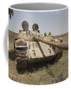 A Russian T-55 Main Battle Tank Coffee Mug