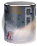 A Sailor Collects Samples Of Aqueous Coffee Mug
