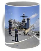 A Scan Eagle Uav Is Launched Coffee Mug