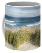 A Scenic Hillside Of The Beach Coffee Mug by Bill Hatcher