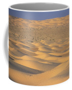 A Sea Of Dunes In The Sahara Desert Coffee Mug by Stephen Sharnoff