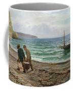 A Sea View Coffee Mug by Colin Hunter