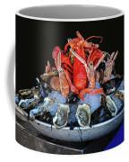 A Seafood Orgy Coffee Mug