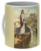 A Sermon  Coffee Mug by English School