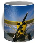 A Small Personal Aircraft Sitting Coffee Mug