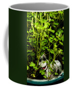 A Smile In A Clover Forest Coffee Mug