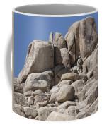 A Soldier Climbs A Mountain Coffee Mug